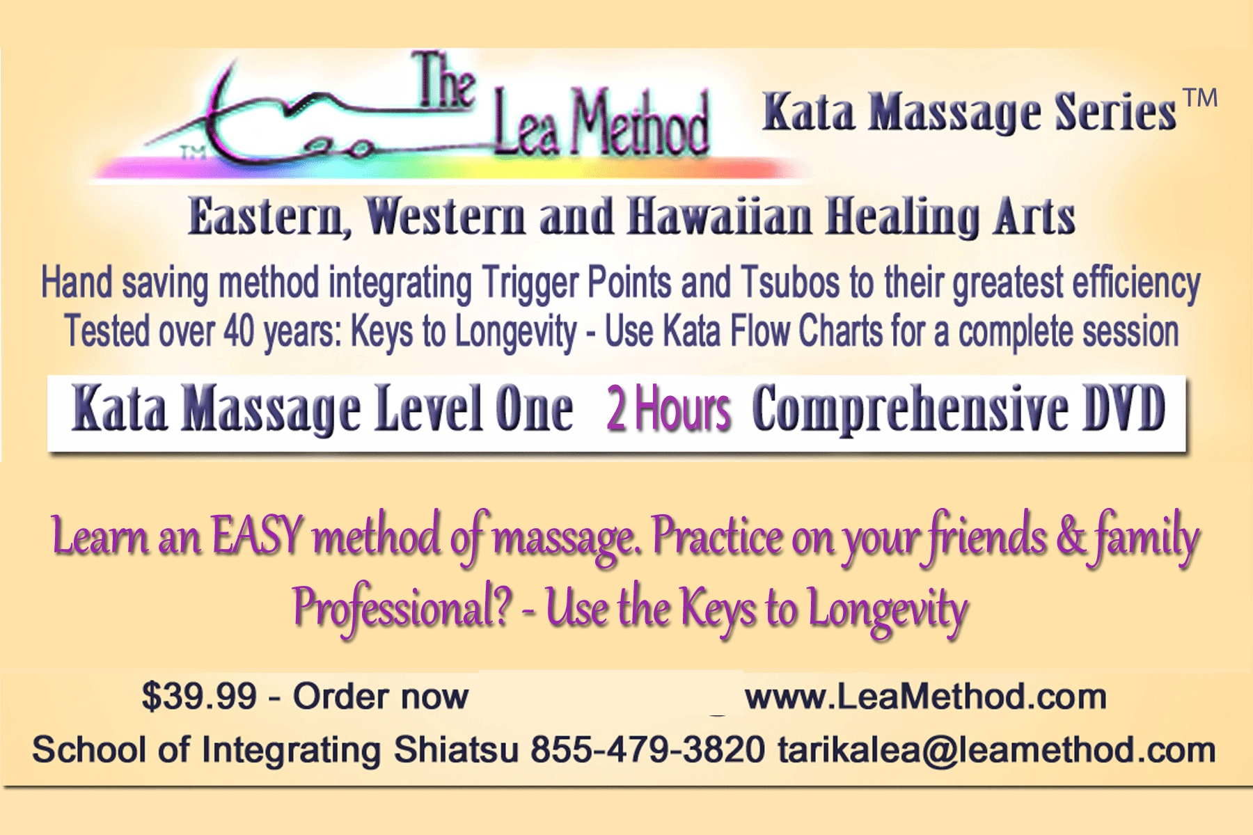 Kata Massage Instructional DVD